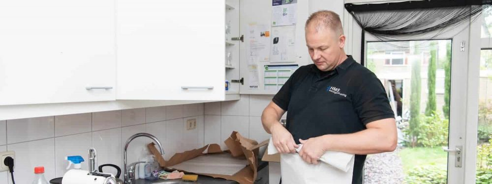 Woningontruiming: woning leeg en schoon